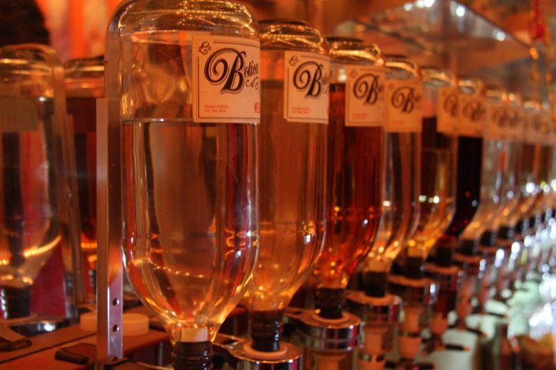 Tapped Bottles