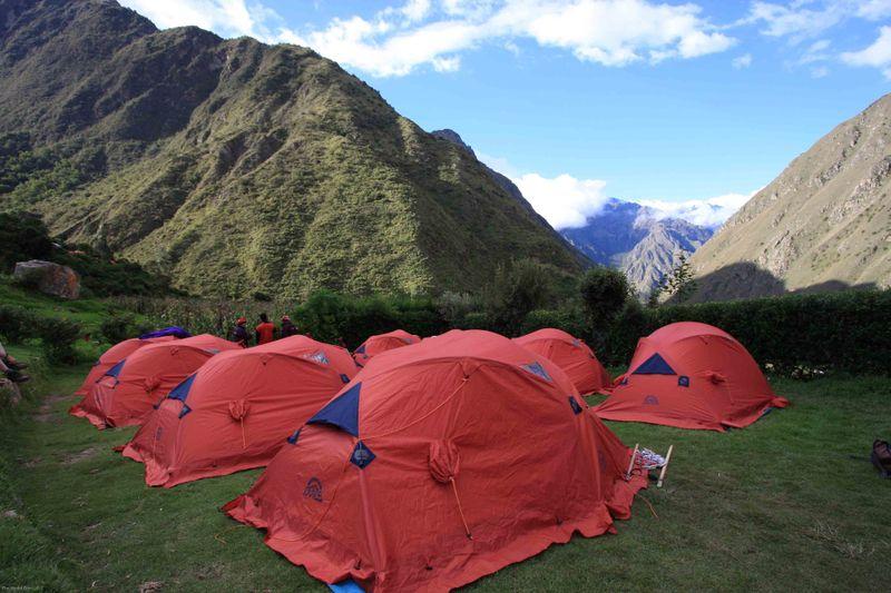 Campsite day 1