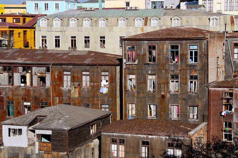 Classic Valparaiso Buildings