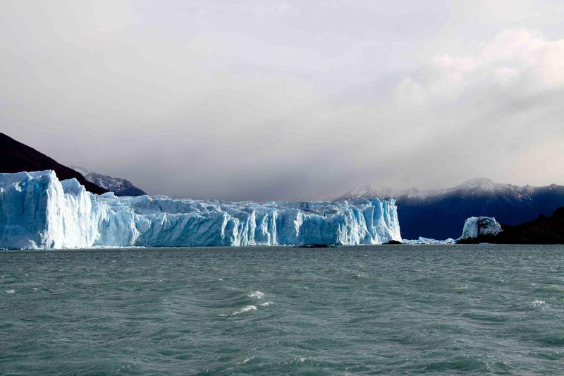 Perito Moreno Glacier (view from the boat ride)