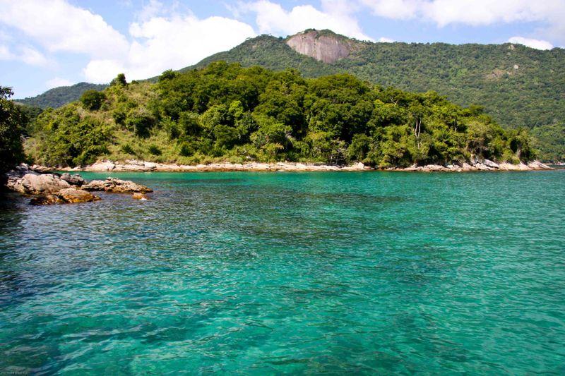 Ilha Grande - cove during boat ride