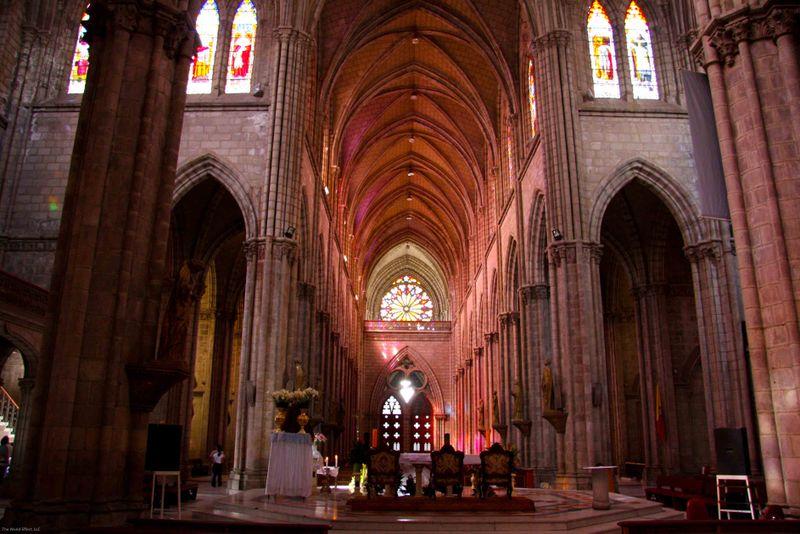 Basilica Church interior
