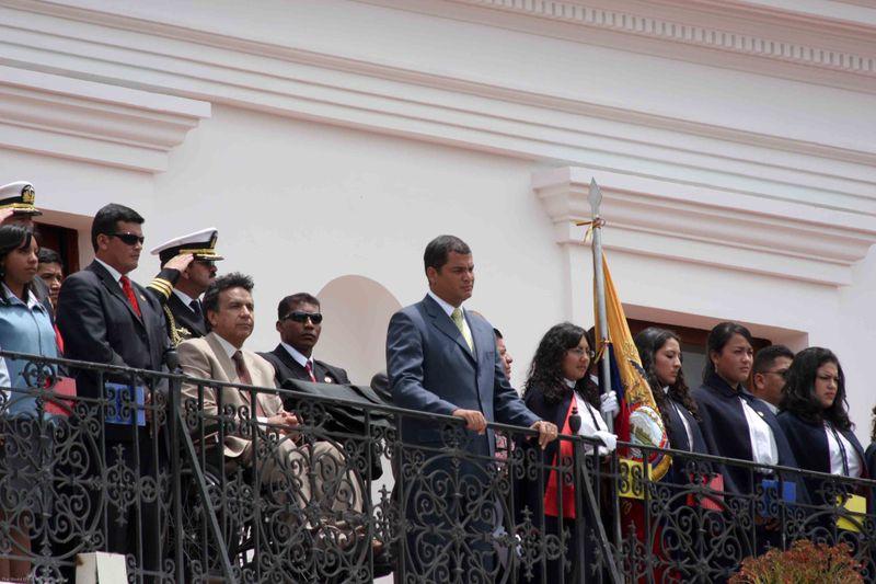The President of Ecuador