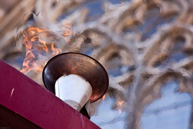 Fossar de les Moreres Momorial Flame
