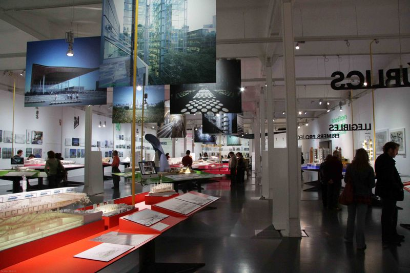 Barcelona, Spain: Richard Rogers' Exhibit of work
