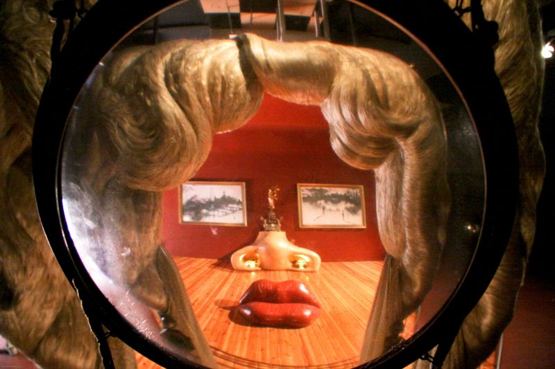 Marilyn Monroe. Dali Museum. Figueres, Spain.