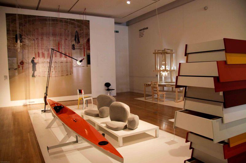 London, England: Design Museum 2nd floor