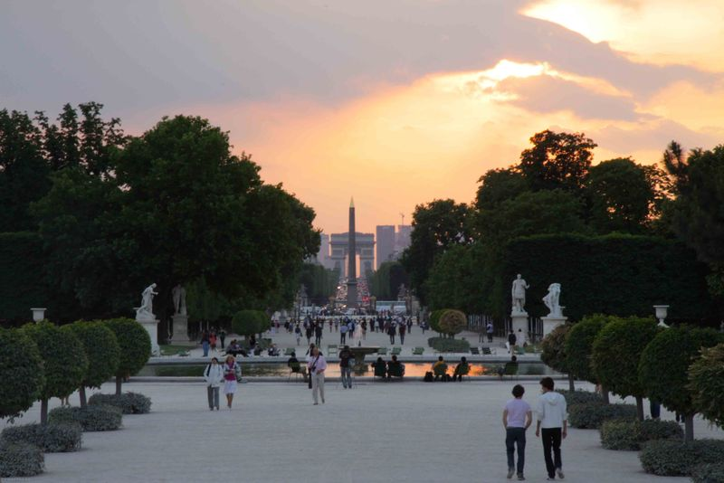 Paris, France: Tuileries Gardens