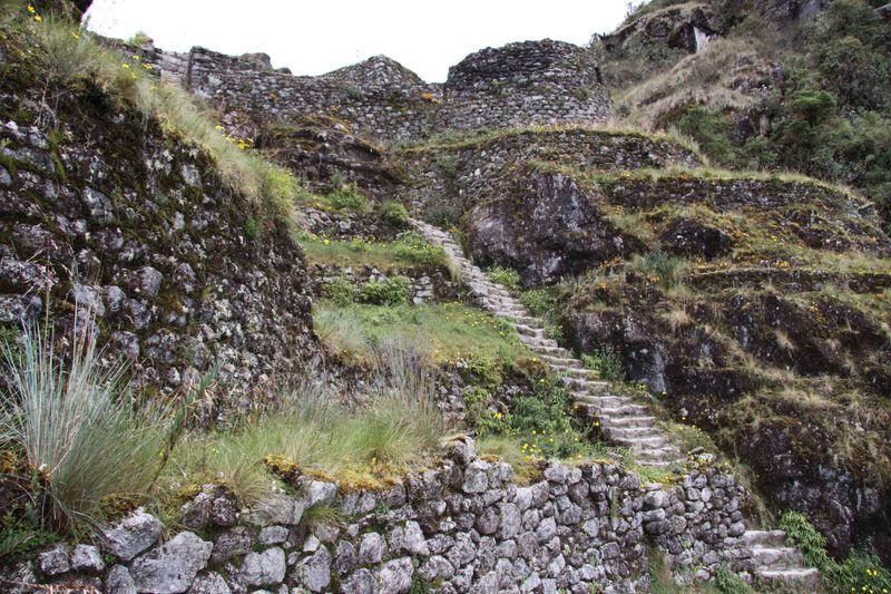 Inca ruin: Phuyupatamarca