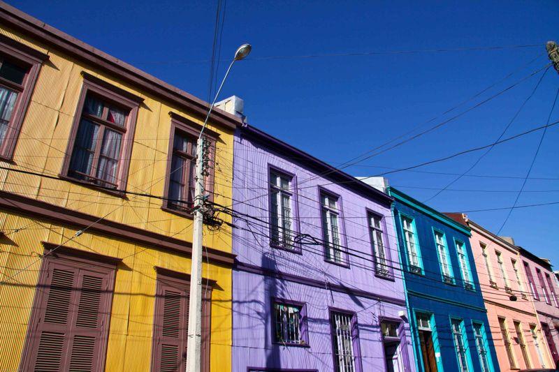 Valparaiso streetside