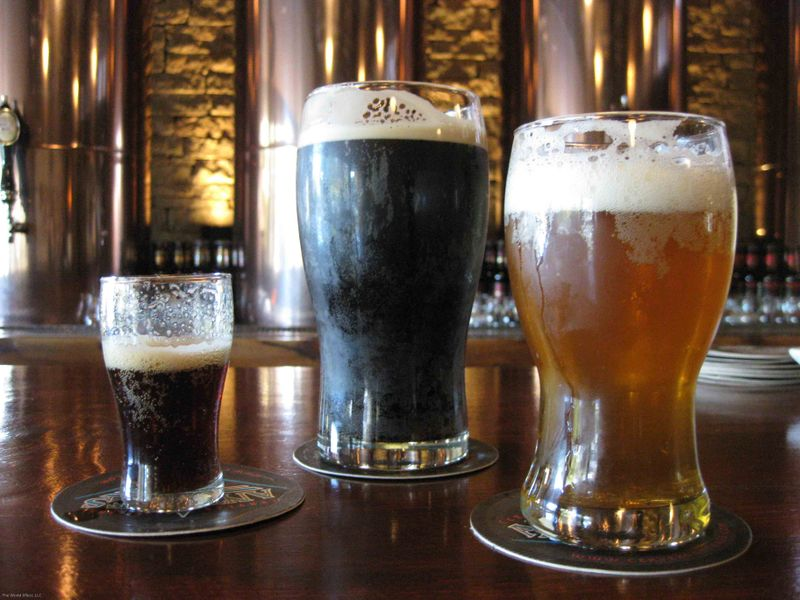 Antares beers: Imperial Stout, Barely Wine and Porter