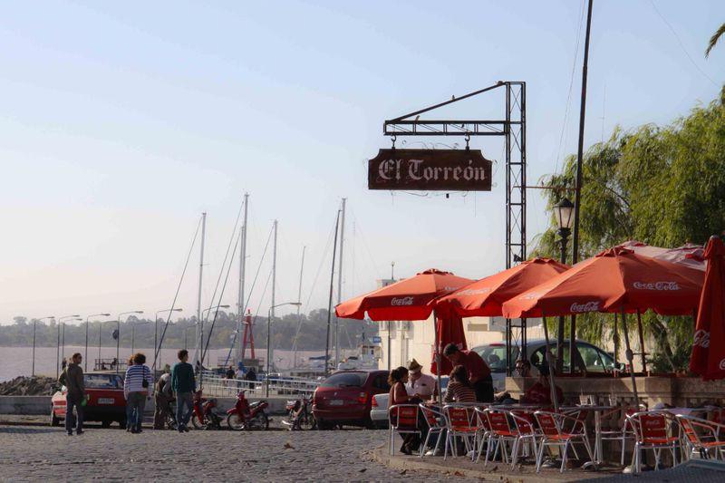Cafe in Colonia, Uruguay