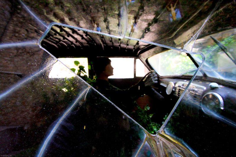 Raining Cadillac. Dali Museum. Figueres, Spain.