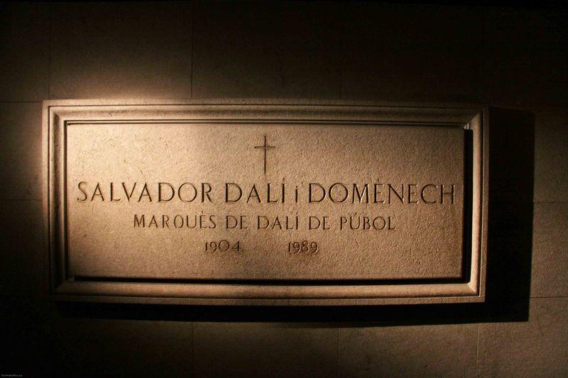 Dali's Tomb