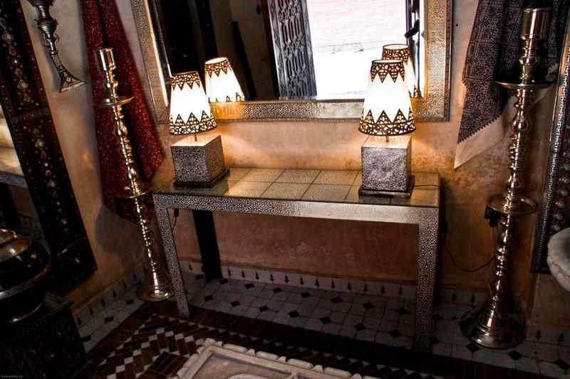 Marrakech, Morocco: Furniture Store In Medina
