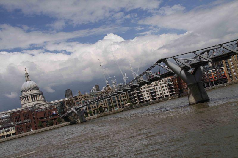 London, England: Millennium Bridge