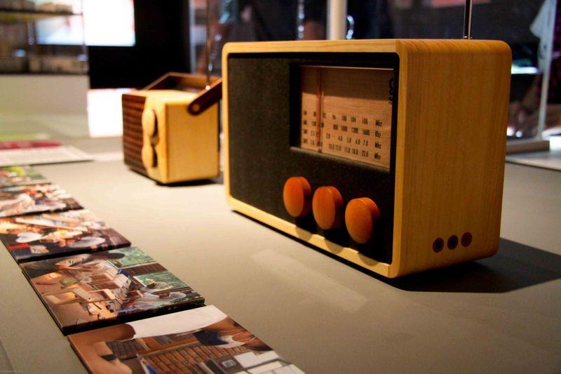London, England: Design Museum Fairtrade radios