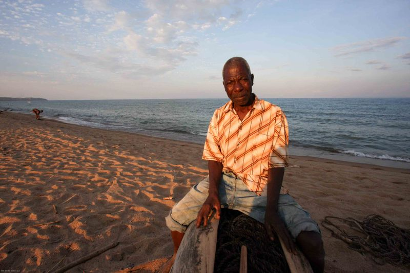 Local Fisherman. Chitimba, Malawi