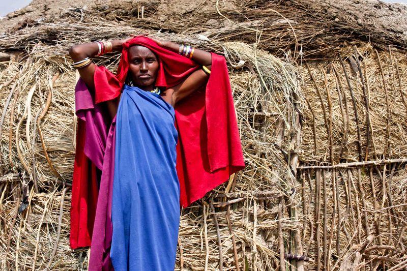 Masai Woman. Tanzania