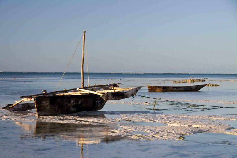 Nungwi, Zanzibar - fishing boats