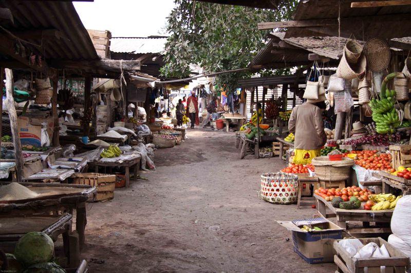 Arusha, Tanzania - Food Market