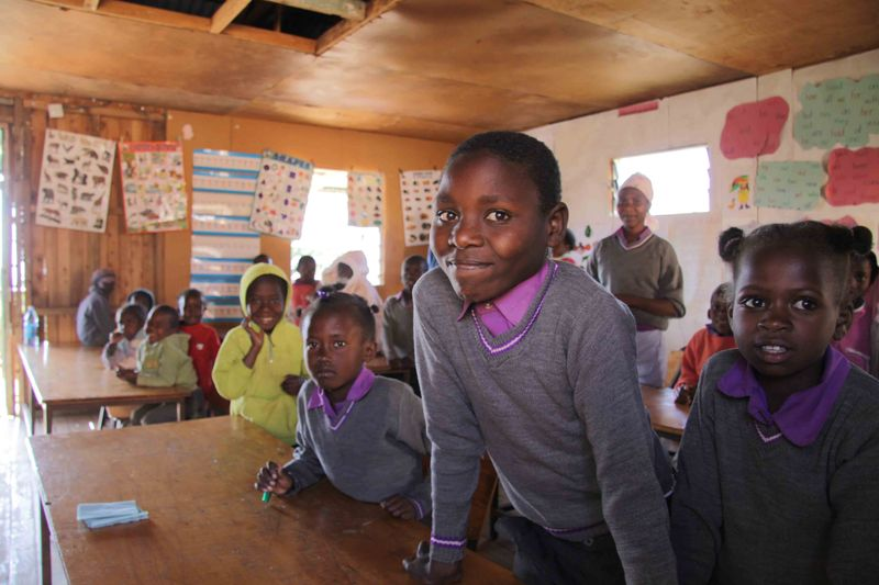 East African Mission Orphanage - David in School