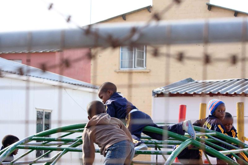 School Playground: Langa, South Africa