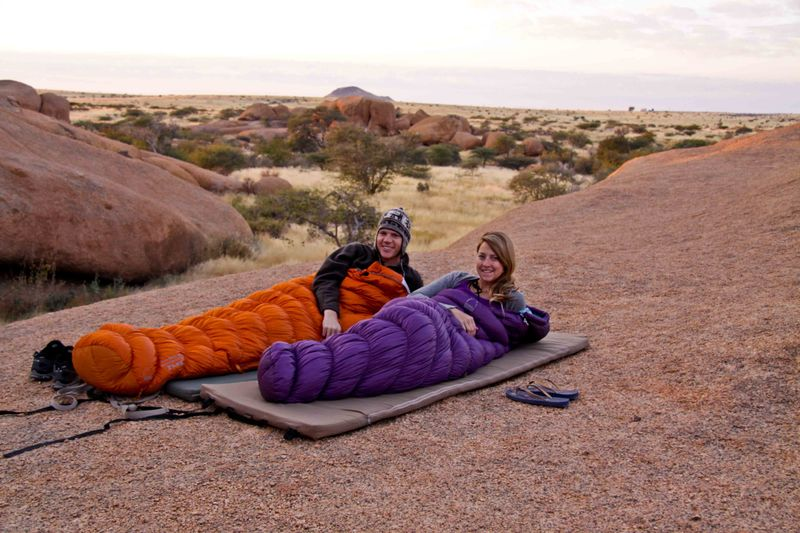 Spitzkoppe, Namibia Sierra Design Sleeping Bags