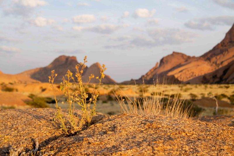 Spitzkoppe, Namibia granite boulder