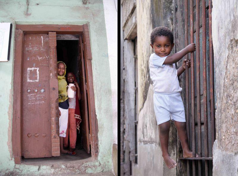 Kids in Stone Town, Zanzibar