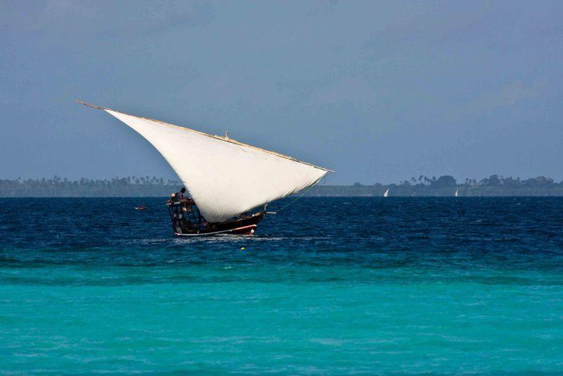Nungwi, Zanzibar - fishing boat