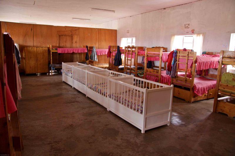 East African Mission Orphanage - dorm room