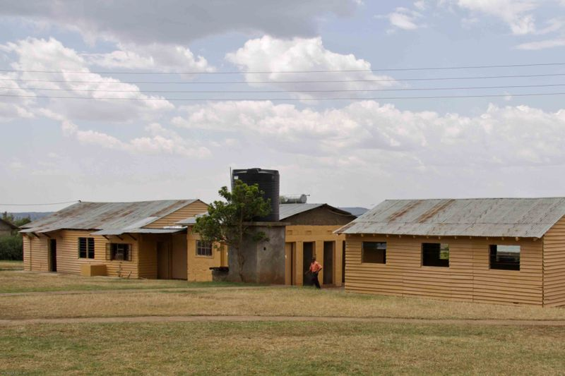 East African Mission Orphanage - School houses