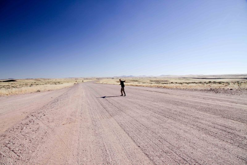 The middle of no where. Solitaire, Namibia