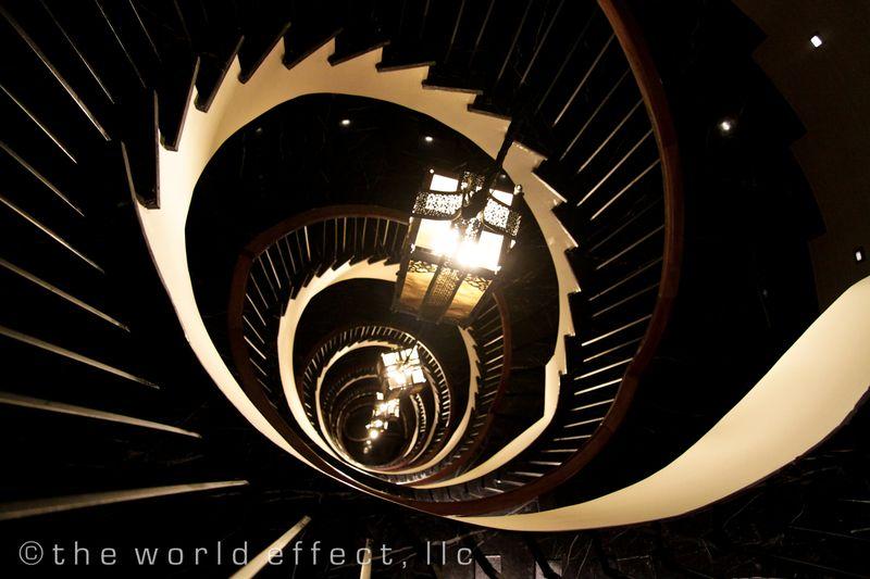 Istanbul, Turkey - Stairs at Pera Tulip