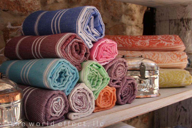 Kas, Turkey - Turkish Towels
