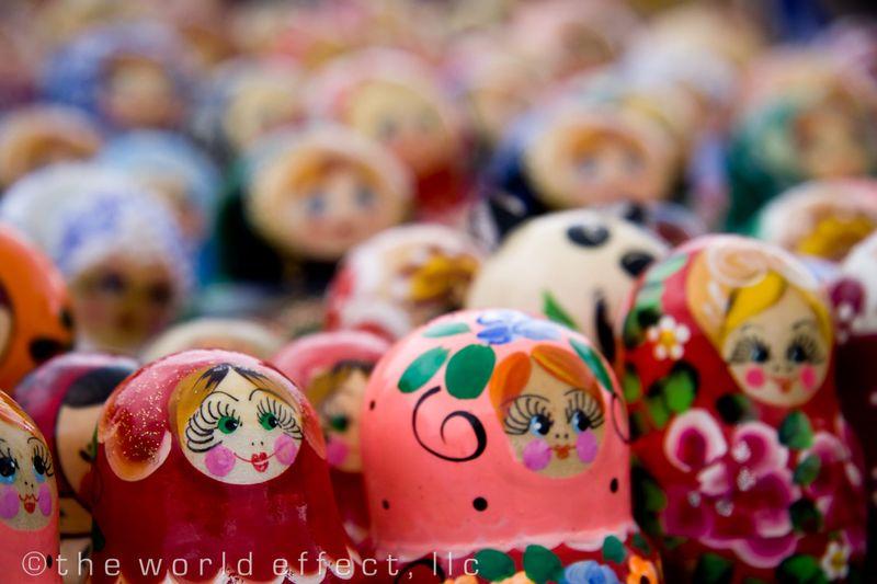 Matryoshka dolls (Russian Nesting Dolls)