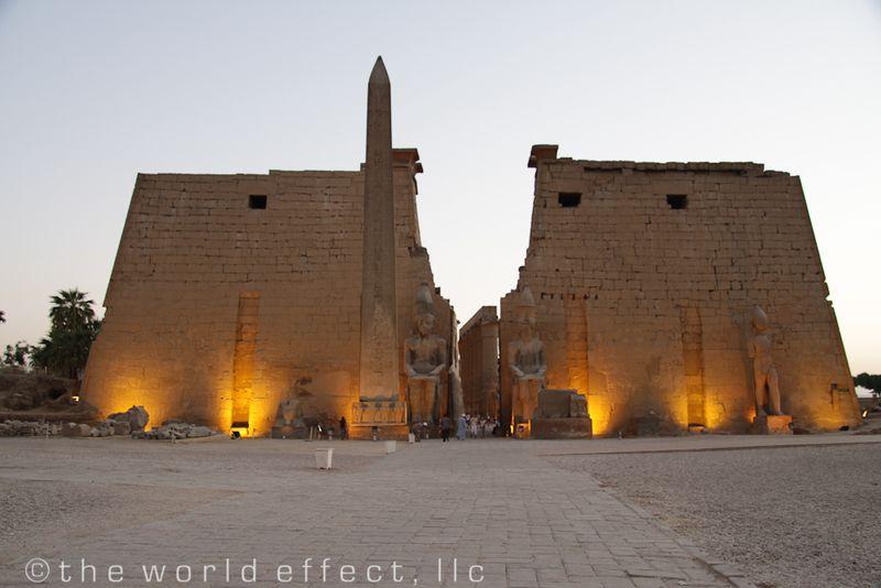 Luxor Temple. Luxor, Egypt