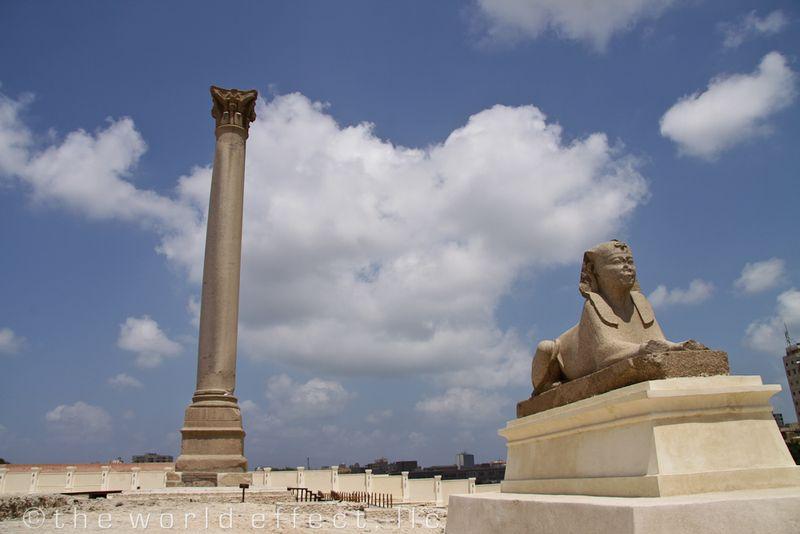 Alexandria, Egypt - Pompey's Pillar