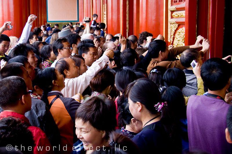Last day before closure, Forbidden City - Beijing, China