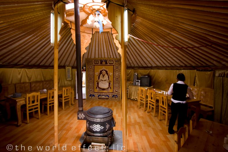 Great Mongolia, Ger Restaurant