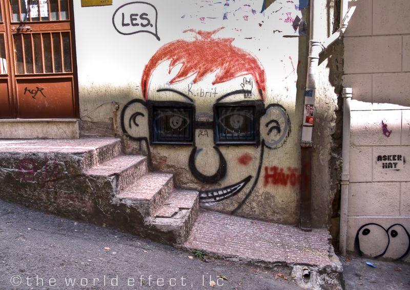 Graffiti. Istanbul, Turkey