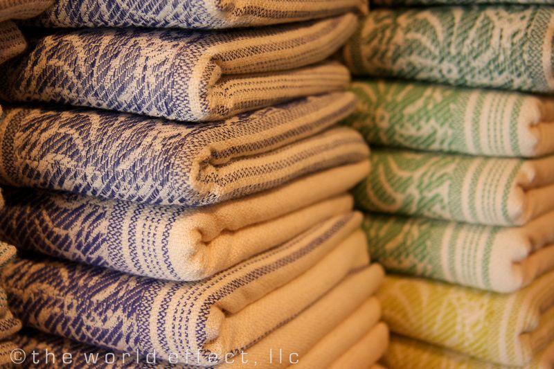Kas, Turkey - Blue and Green Turkish Towels
