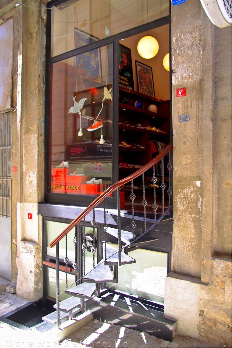 Istanbul, Turkey - Pera Area shop