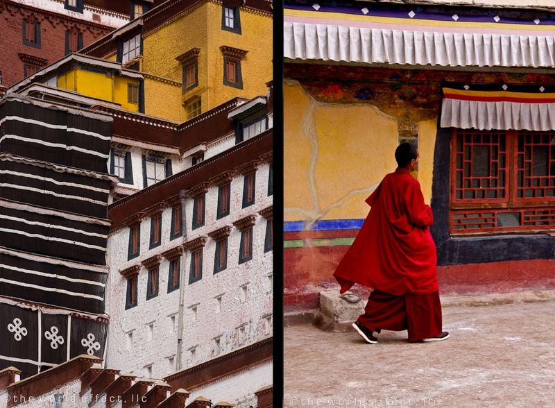 Potal Palace. Lhasa, Tibet