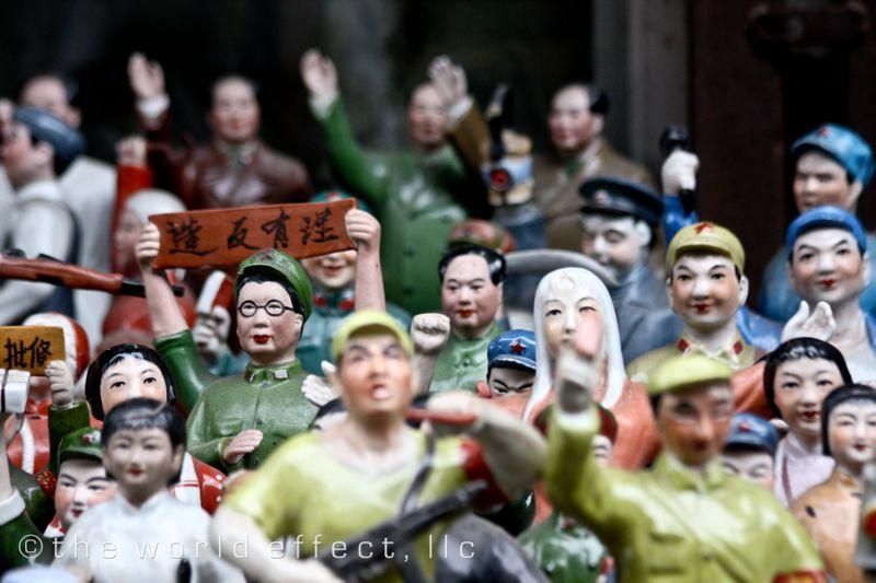 Shanghai, China - Mao Ceramic Dolls