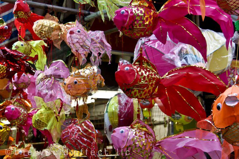 Fish Lanterns. Hong Kong