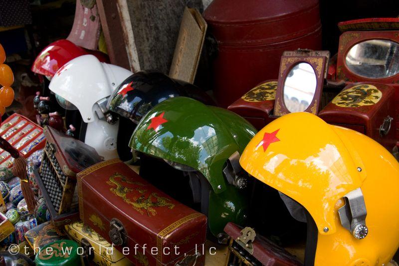 Shanghai, China - Chinese Helmets