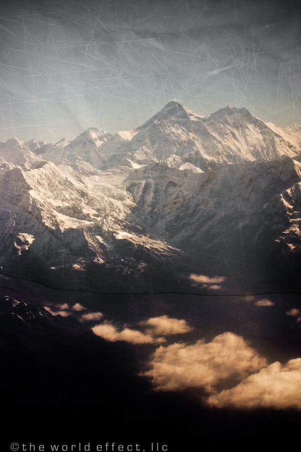 Nuptse, Everest and Lhotse