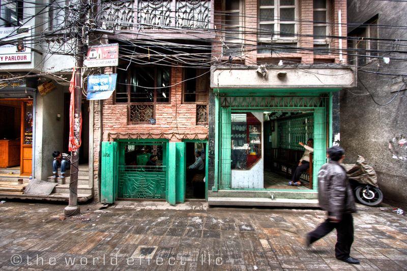 Street Scene. Kathmandu, Nepal